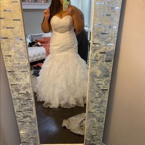 Gorgeous David's bridal wedding dress